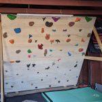 How I Built An Adjustable, Freestanding, DIY Home Climbing Wall
