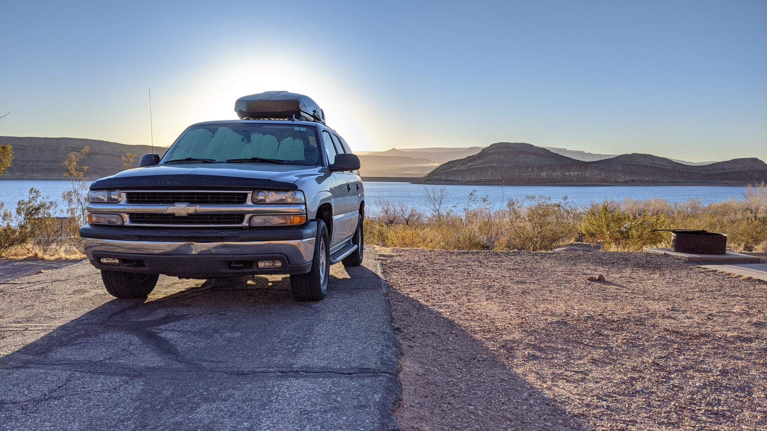 Solo Red Rock Trip in my Chevy Tahoe Camper
