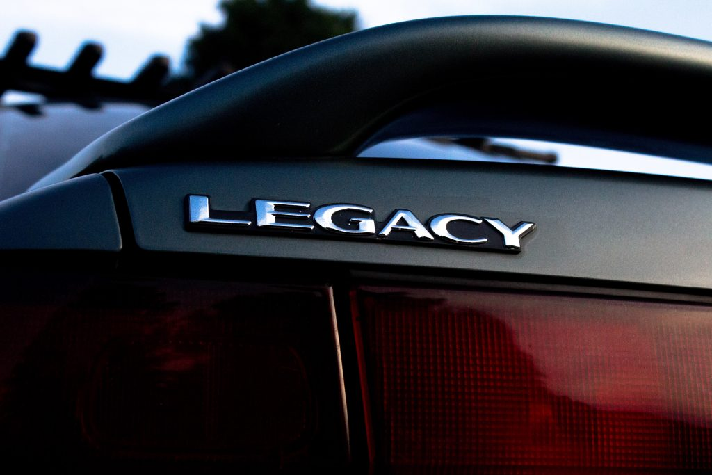 Subaru Legacy Badge