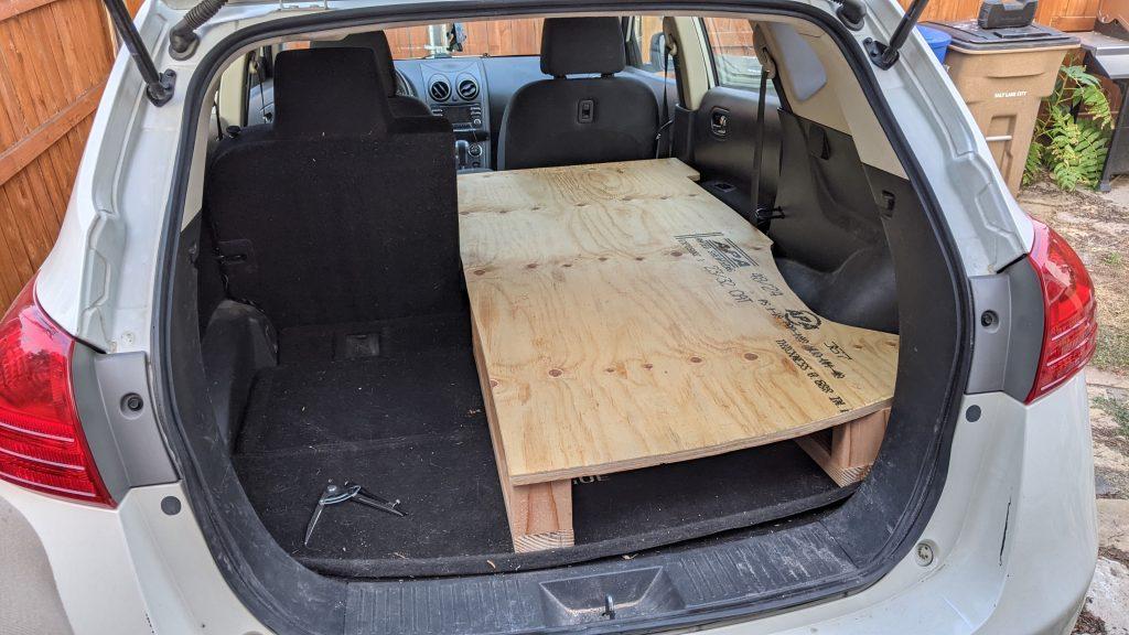 Nissan Rogue Bed Platform