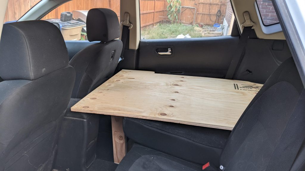 Nissan Rogue Bed Front Legs