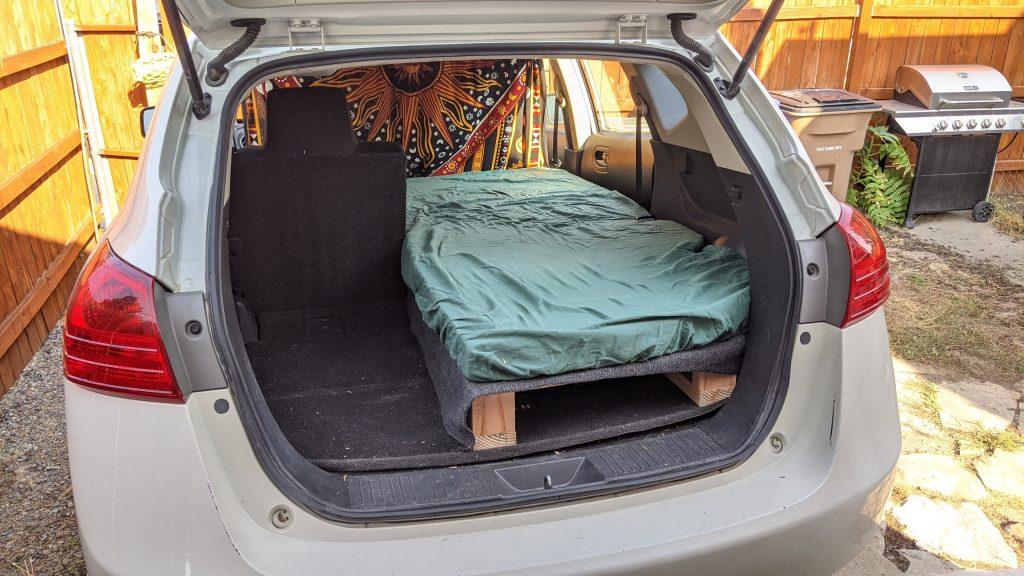 Nissan Rogue Camper